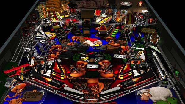 Worms Pinball on PC screenshot #3