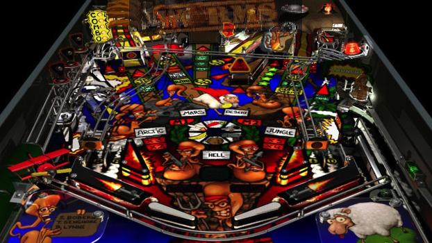 Worms Pinball on PC screenshot #1
