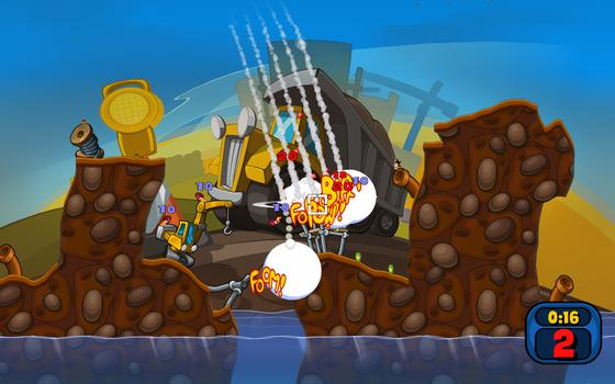 Worms Reloaded on PC screenshot #3