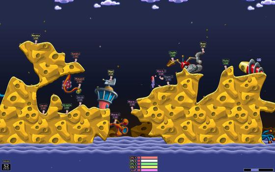 Worms Revolution and Season Pass on PC screenshot #1