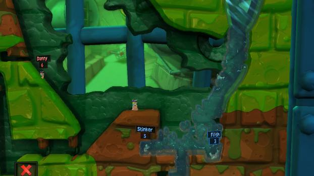 Worms Revolution on PC screenshot #4