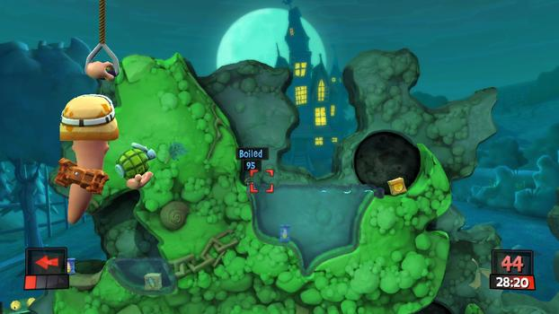 Worms Revolution on PC screenshot #3