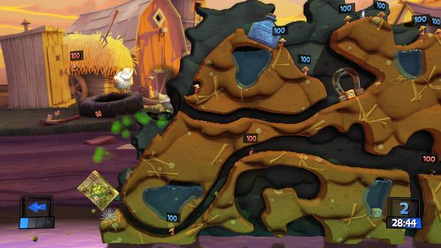 Worms Revolution on PC screenshot #2
