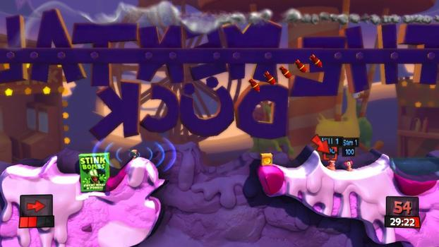 Worms Revolution: Season Pass on PC screenshot #4