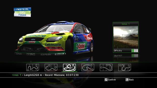 WRC FIA World Rally Championship on PC screenshot #1