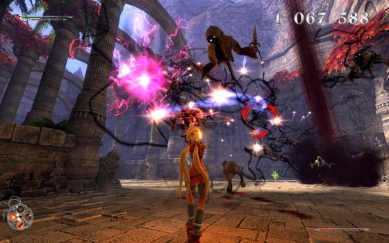 X-Blades on PC screenshot #2