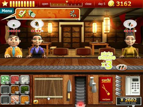 Youda Sushi Chef on PC screenshot #4