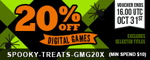 Discount Voucher at Green Man Gaming