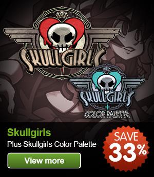 Skullgirls-and-SkullGirls-Colour-Palette